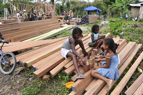 build a house file us navy 110605 f nj219 179 colombian children build a house out of scrap wood as navy
