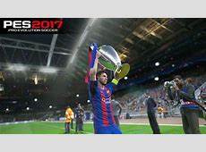 PES 2017 UEFA Champions League Final Barcelona vs Real