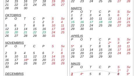 Mācību gada kalendārs 2020./2021 - krāsojamās lapas bērniem