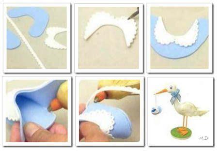 como hacer escarpines zapatitos de beb 233 foamy goma fieltro craft