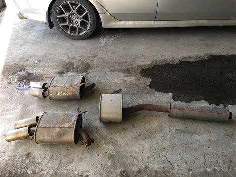 Sold Acura Type Oem Exhaust Acurazine