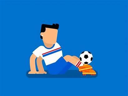 Juggling Dribbble Soccer Animation Gifs Football Ball