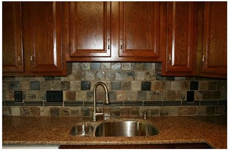 kitchen backsplashes images h winter showroom rustic indian autumn slate adds