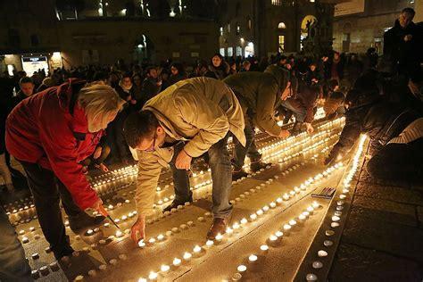 Candele Bologna cinquemila candele in piazza maggiore bologna solidale con