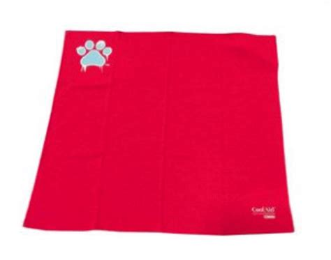 bandana cuisine coolaid canine cooling recovery 12 quot x 12 quot small