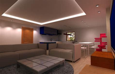 design room     decorative modern recessed
