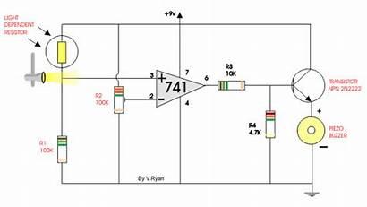 Ldr Animated Circuit Example Naruto 741 Comparator