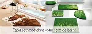 Tapis Salle De Bain Original : tapis bain original table de lit ~ Teatrodelosmanantiales.com Idées de Décoration