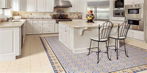 carrelage ciment cuisine carrelage style ancien bleu escocia 44x44 cm à l 39 ancienne
