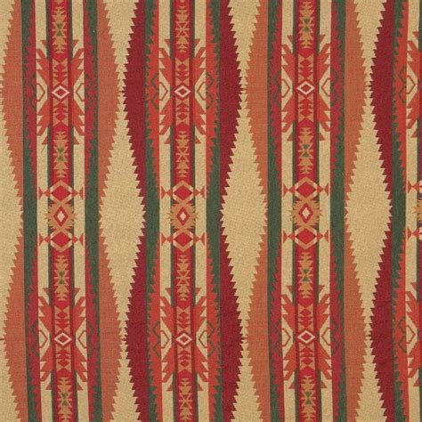 Upholstery Fabric by B170 Southwestern Navajo Lodge Style Upholstery Grade