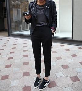 Shoes adidas sneakers black white tumblr - Wheretoget