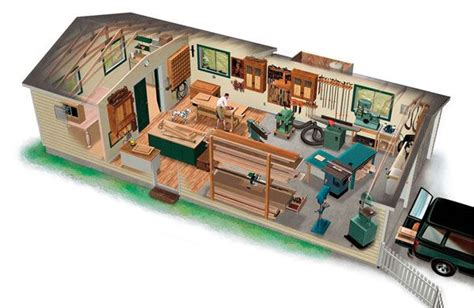 workshop layout images  pinterest workshop