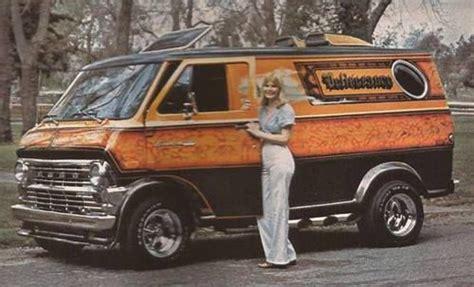 70s Custom Vans Old School Ford