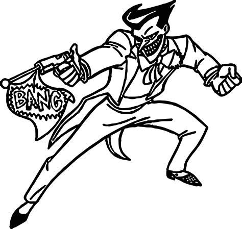 joker  batman bang joke coloring page wecoloringpagecom