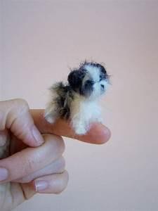 39 Itty Bitty Puppy - 38 Super Cute Felt Animals You Can