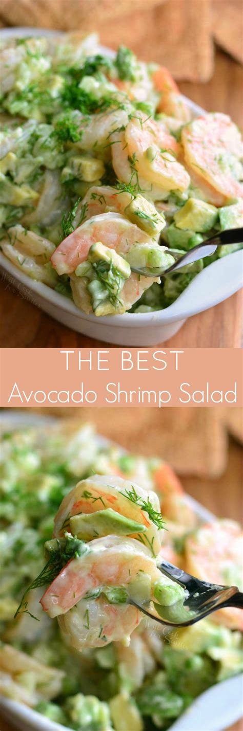 Home made simple chef ronnie woo shows homeowner tracy how to put together a light and flavorful roasted shrimp salad. The BEST Avocado Cold Shrimp Salad - Will Cook For Smiles