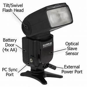 Magnum Mg68 Canon Portable Flash