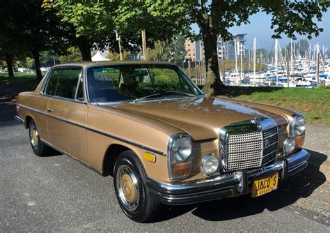 The history file accompanying this car comes complete with servicing and. No Reserve: 1972 Mercedes-Benz 250C for sale on BaT Auctions - sold for $13,500 on November 14 ...