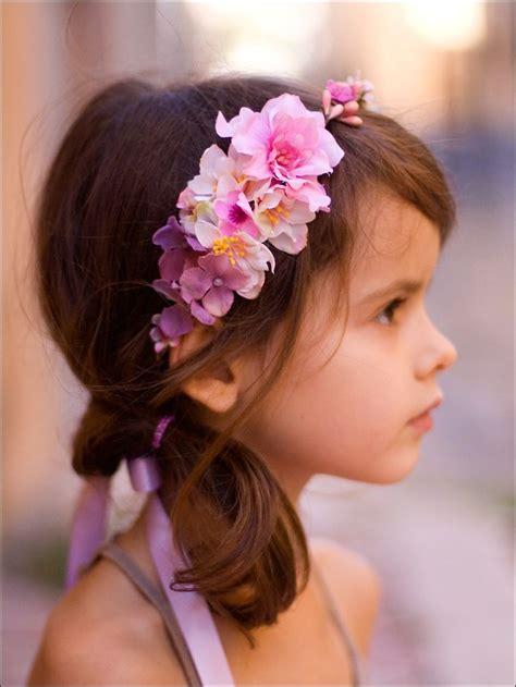 couronne de fleurs pour enfant ornella pastel autres