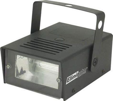 eliminator lighting e 105 model mini strobe light flashes
