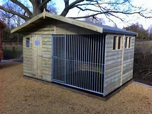 The chesterfield chalet dog kennel for The dog house kennel