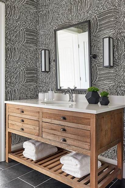 Feather Bathroom Hgtv Guest Gray Vicky Paige