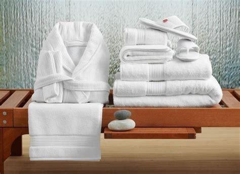 white cotton microfiber hotel bath linen size standard
