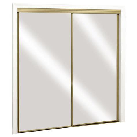 Shop Reliabilt Mirror Sliding Closet Door With Hardware