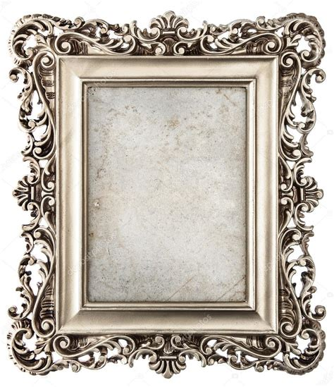 cadre photo style baroque cadre photo argent style baroque avec toile photographie liligraphie 169 44620123