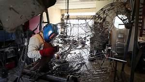 Soudure Al Arc : film par l 39 art en bo te le grand cond s sculpture soudure l 39 arc lectrique serge ~ Dallasstarsshop.com Idées de Décoration