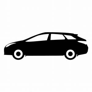 Hatchback side view silhouette - Transparent PNG & SVG vector