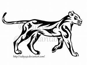 Walking Lioness Tattoo by zuky237 on DeviantArt