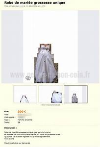 sacre montage pour cette robe de mariee perles du bon coin With robe de mariée le bon coin