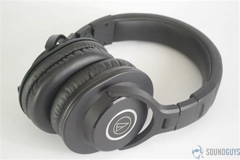 audio technica ath m40x review