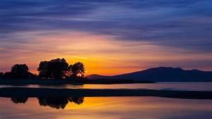 Nature Landscape Beautiful Sunset Wallpaper #5283 ...
