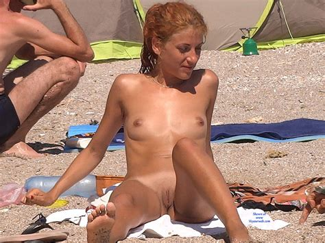 Naked Blonde On Beach October Voyeur Web Hall Of