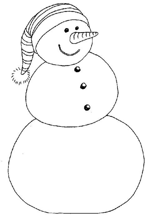 Sneeuwman Kleurplaat Simpel by Kerst Kleurplaten De Kerstman Kerstengel Kerstboom