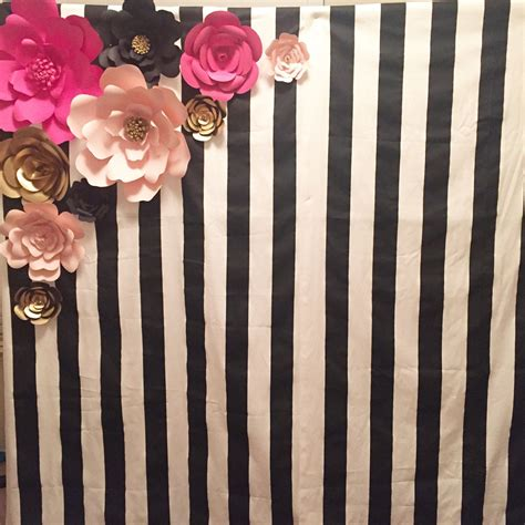 Kate Backdrop by Kate Spade Inspired Theme Backdrop And Flower Set