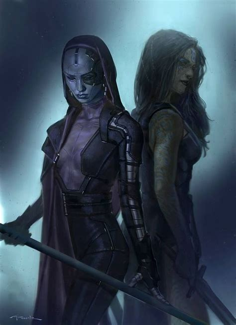 Nebula And Gamora Art Nebula Porn And Pinups Sorted