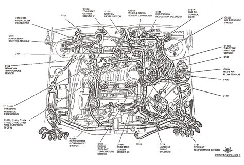 02 Tauru Engine Diagram by Ford 19l Engine Diagram Wiring Diagram
