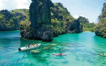 Philippines Palawan Coron Islands Lake Kayangan Wallpapers13
