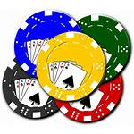 Casino Poker Chips Cards Vector Gambling Graphic