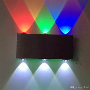 2018 9w Wall Lamps Aluminum 6 Led Wall Lighting For Dj