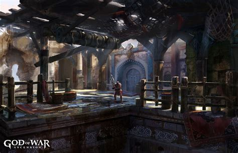 God Of War Ascension Concept Art Concept Art World