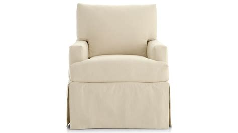 Glider Ottoman Slipcover by Slipcover Only For Hathaway Ottoman Petry Snow Crate