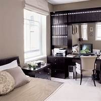 bedroom office ideas Bedroom With Office Decorating Ideas Example | yvotube.com