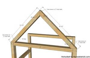 a frame house remodelaholic diy house frame bookshelf plans