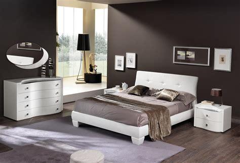 modern bedroom furniture sets made in italy leather elite modern bedroom set jackson 16276 | white italian master bedroom with leather headboard spar disco