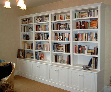 Bookcases For The Home by 15 Photos White Library Bookcases