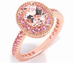 beautiful pink diamond rings rose gold pink diamond With wedding rings pink gold